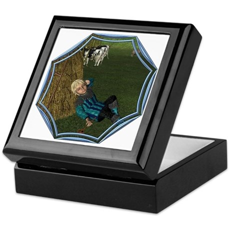 LBB - Asleep in the Hay! Keepsake Box