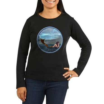 The Little Mermaid Women's Long Sleeve Dark T-Shir