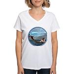 The Little Mermaid Women's V-Neck T-Shirt