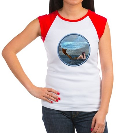 The Little Mermaid Women's Cap Sleeve T-Shirt