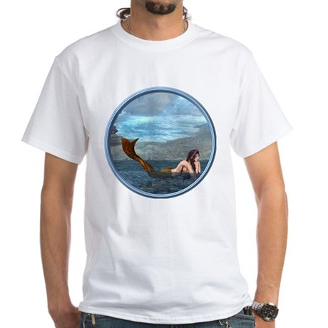 The Little Mermaid White T-Shirt