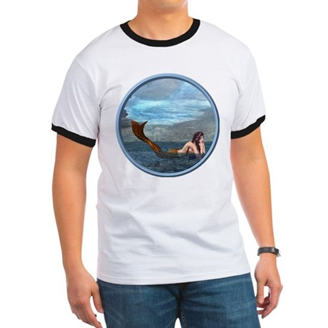 The Little Mermaid Ringer T