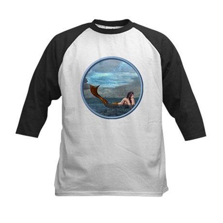 The Little Mermaid Kids Baseball Jersey
