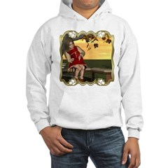 Little Miss Muffet Hooded Sweatshirt