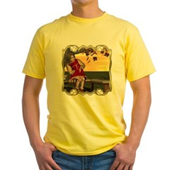 Little Miss Muffet Yellow T-Shirt