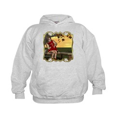 Little Miss Muffet Kids Hoodie