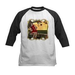Little Miss Muffet Kids Baseball Jersey