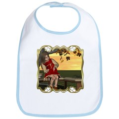 Little Miss Muffet Bib