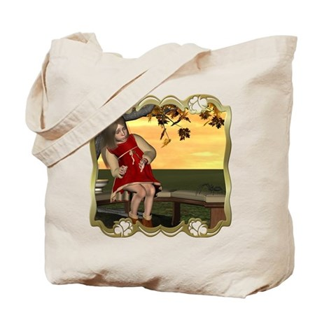 Little Miss Muffet Tote Bag