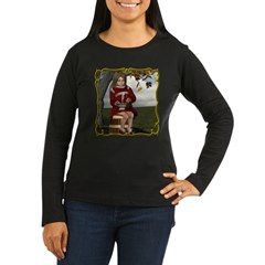 Little Miss Tucket Women's Long Sleeve Dark T-Shir