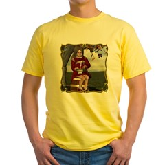 Little Miss Tucket Yellow T-Shirt