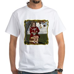 Little Miss Tucket White T-Shirt