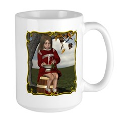 Little Miss Tucket Large Mug