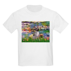 Lilies2-Am.Hairless T Kids Light T-Shirt