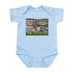 Lilies2-Am.Hairless T Infant Bodysuit