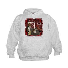 The Little Red Hen Kids Hoodie