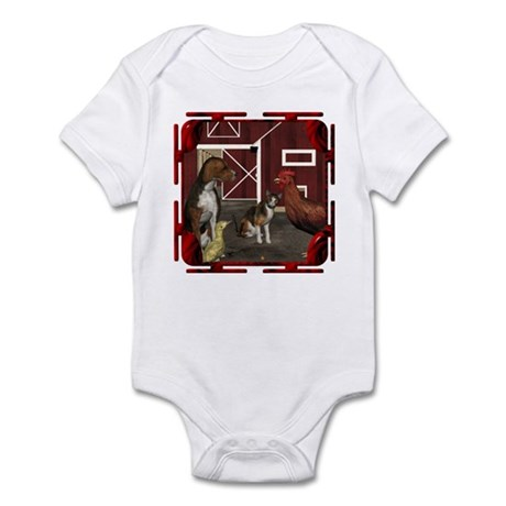 The Little Red Hen Infant Bodysuit