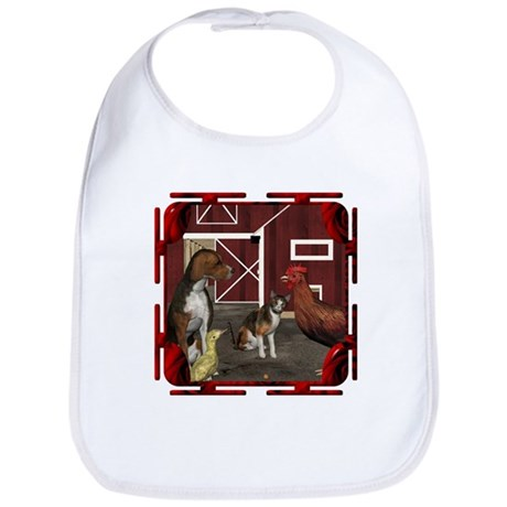The Little Red Hen Bib