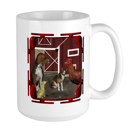The Little Red Hen Large Mug