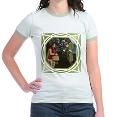 LRR - In the Forest Jr. Ringer T-Shirt