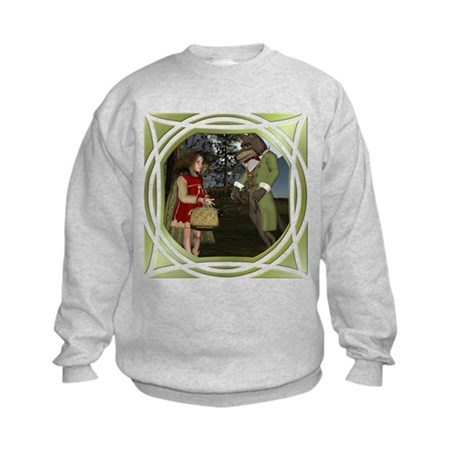 LRR - In the Forest Kids Sweatshirt