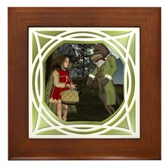 LRR - In the Forest Framed Tile