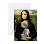 MonaLisa - AmHairless T. Greeting Cards (Pk of 20)