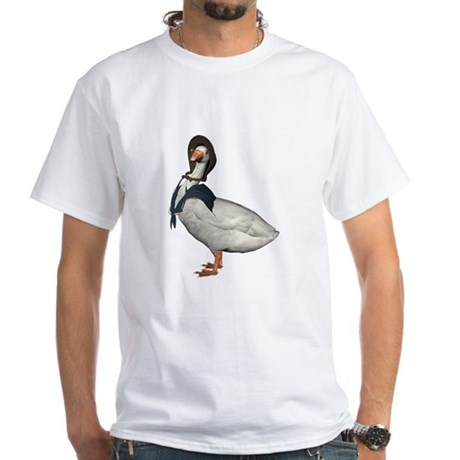 Mother Goose (The Goose) White T-Shirt