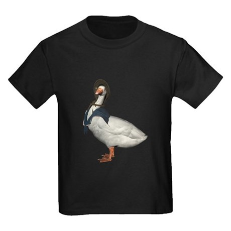 Mother Goose (The Goose) Kids Dark T-Shirt