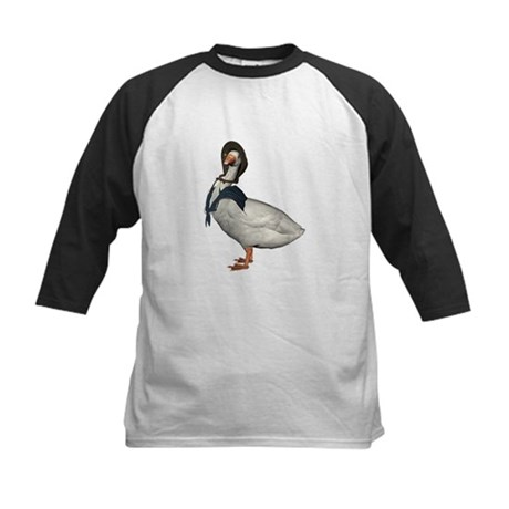 Mother Goose (The Goose) Kids Baseball Jersey
