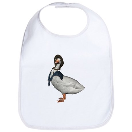Mother Goose (The Goose) Bib