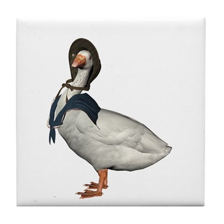 Mother Goose (The Goose) Tile Coaster