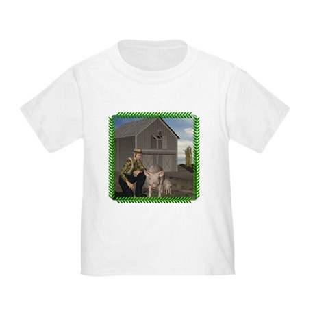 Old MacDonald Toddler T-Shirt