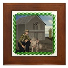 Old MacDonald Framed Tile