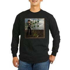 Peter Piper Long Sleeve Dark T-Shirt