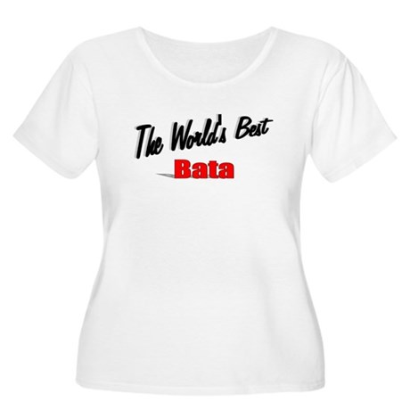 """The World's Best Bata"" Women's Plus Size Scoop Ne"