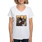 Prince Phillip Women's V-Neck T-Shirt