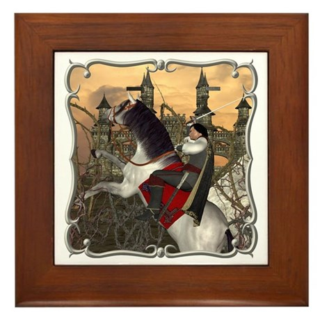 Prince Phillip Framed Tile