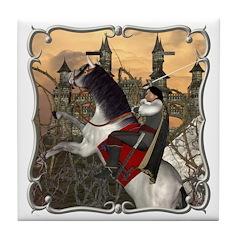 Prince Phillip Tile Coaster