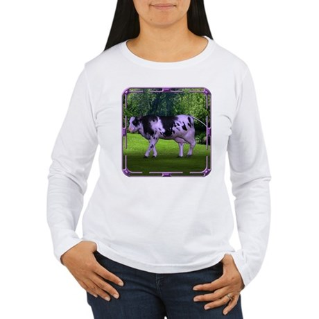 The Purple Cow Women's Long Sleeve T-Shirt