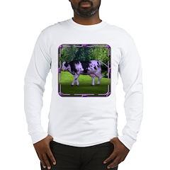 The Purple Cow Long Sleeve T-Shirt