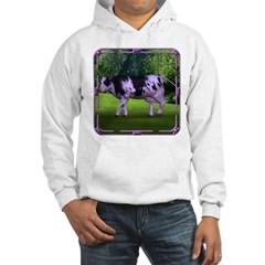 The Purple Cow Hooded Sweatshirt