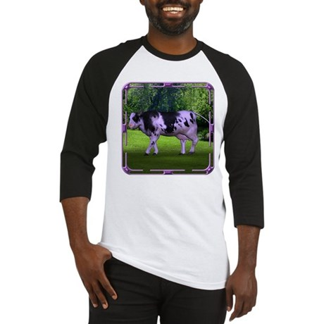 The Purple Cow Baseball Jersey