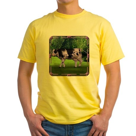 The Purple Cow Yellow T-Shirt