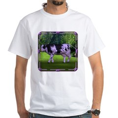 The Purple Cow White T-Shirt