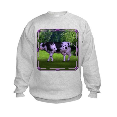 The Purple Cow Kids Sweatshirt