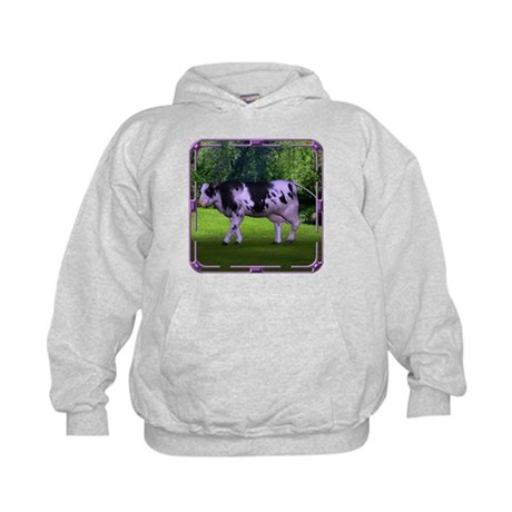 The Purple Cow Kids Hoodie