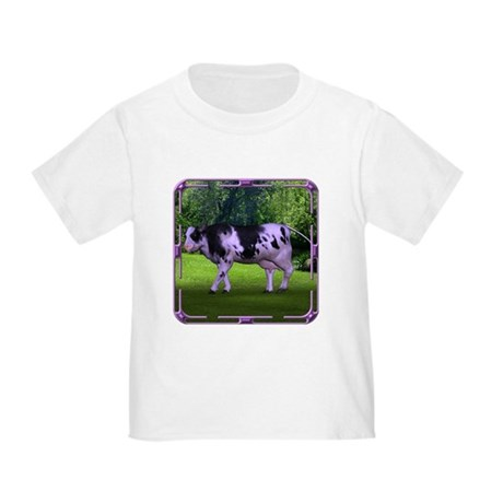 The Purple Cow Toddler T-Shirt