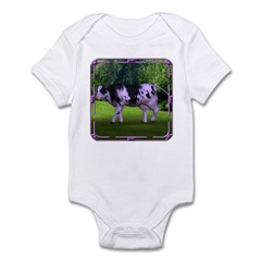 The Purple Cow Infant Bodysuit