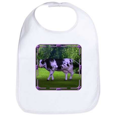 The Purple Cow Bib